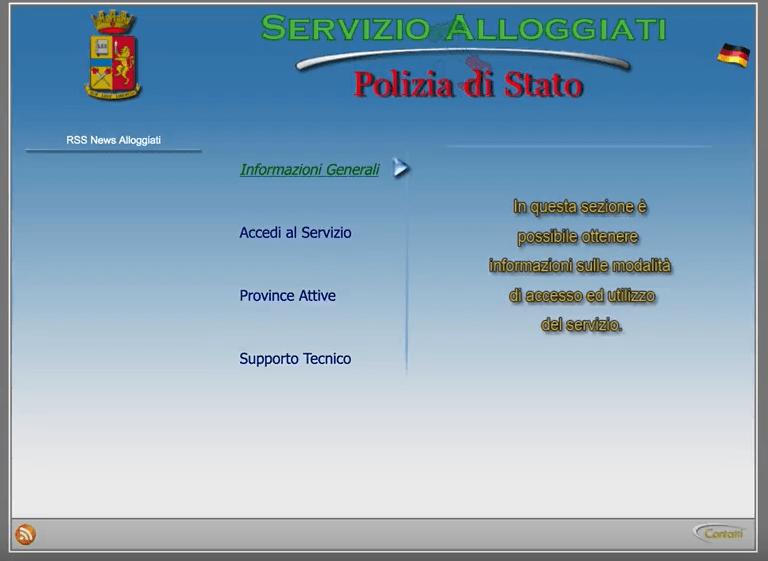 certificato portale alloggiati